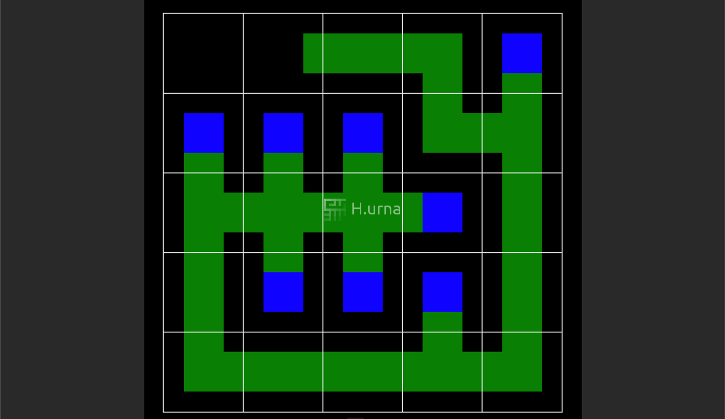 Depth First Search Maze Creation Visualization